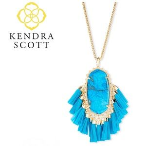 Kendra Scott Betsy Necklace in Turquoise